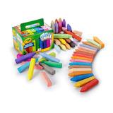 Tiza Crayola Set 48 Washable Chalk /cdjuguetes
