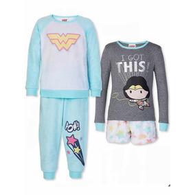 Pijama Mujer Maravilla Niña