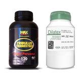 Tribulus Terrestris 120 Caps Com Maca + Dilatex Hormonal