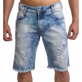 Kit 5 Bermudas + 5 Calças Jeans Masculina Rasgada Destroyed.
