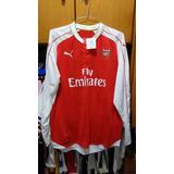 7016ef7019 Camisa Arsenal Manga Longa Masculina - Camisas de Times Ingleses de ...