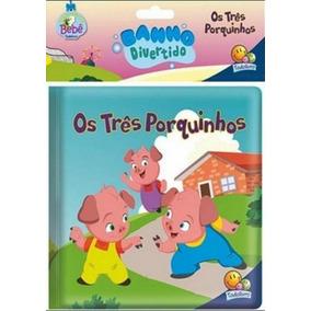 Os Três Porquinhos - Banho Divertido Ii - Todolivro