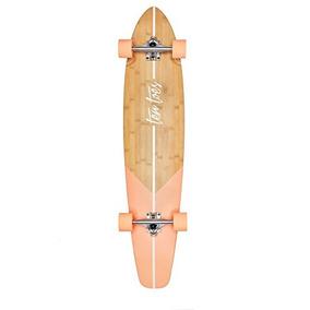 Ten Toes Patineta Longboard Bamboo 44-inch