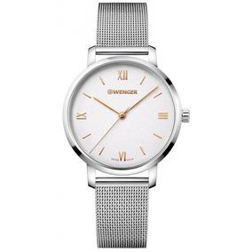 Relógio Feminino Suíço Wenger Metropolitan Donnissima C/ Nf