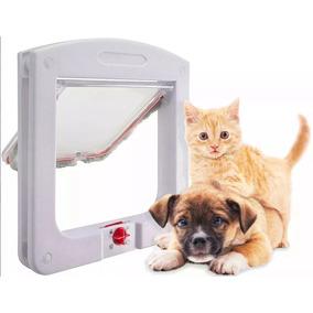 Portinha Passagem Gato Cachorro Porta 4 Em 1 Pet Door