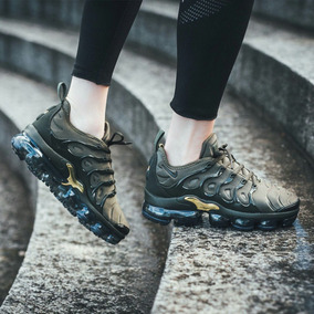 premium selection c159f 99b0a Zapatillas Nike Air Vapormax Plus Olive Green - Hombre Mujer