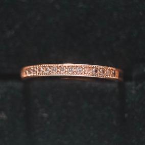 Aliança Vivara - Meia Aliança Ouro Amarelo E Diamantes 8ff385f1d1