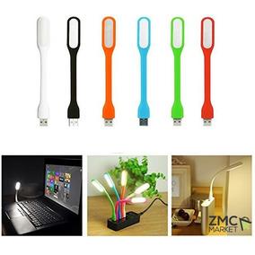 Lampara Led Usb Flexible Laptop Powerbank Colores