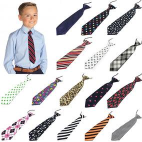 10 Corbata Para Niños Diferentes Modelos Al Azar