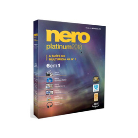 Nero Platinum 2018 Completo + Content Packs 1 E 2