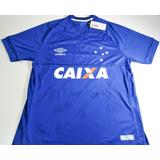 3af51839d0 Camisa Cruzeiro Of I 18 - Game Umbro Masc - Autografada