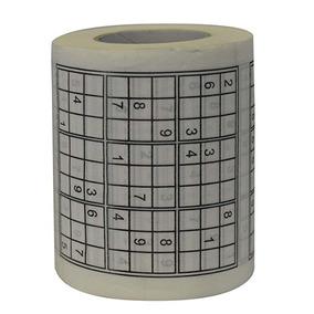Juego Sudoku En Forma De Rollo De Papel De Baño e7e57d184916