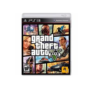 Grand Theft Auto V Gta 5 Em Português Mídia Física Ps3 067