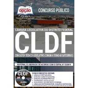 Apostila Cldf 2018 Consultor Técnico-legislativo (comum)