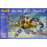 Mil Mi - 24d Hind - D By Revell Germany # 4942 1/48