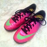 Zapatos Fútbol Nike Mercurial Talla 31 (originales)