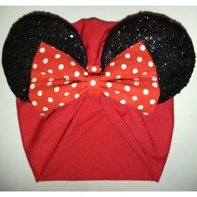 Turbante Minnie Mouse