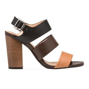 Sandalias Dama Correa Tacon - Zapatos en Mercado Libre México 03666e3de138