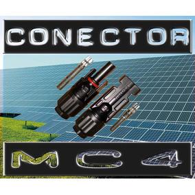 Kit 100 Par Conector Mc4 Painel Fotovoltaico Energia Solar