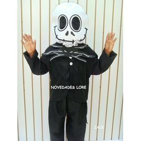 Disfraz Niños Jack Skelligton Halloween Fantasma