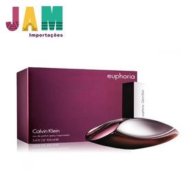 14e12041f8ca8 Perfume Euphoria Calvin Klein 100ml Lacrado Original - Perfumes no ...