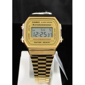 8aa42c1d573 Relogio Casio Unisex A168 Wa 1uwd Retrô Vintage Prata - Relógios De ...
