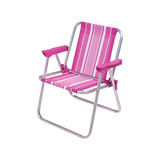 Kit 2 Cadeiras Infantil Em Alumínio Dobrável - Mor