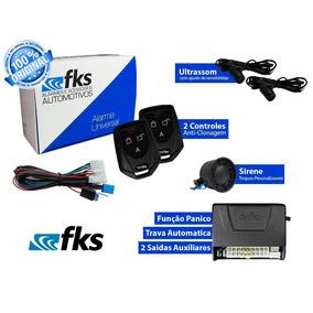 Alarme Automotivo Fks Fk902 Plus 2 Controles Com Bloqueio