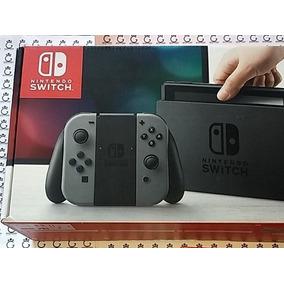 Nintendo Switch - Cinza + Jogos