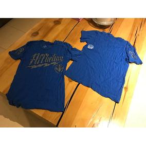 Afliction T Shirt Playera Azul Talla M Envío Gratis X Ml