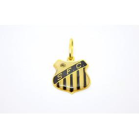 Pingente Santos Futebol Clube Ouro - Joias e Bijuterias no Mercado ... ab7b5c4086686