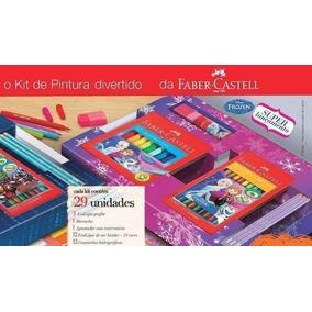 Kit De Pintura Frozen Faber-castell