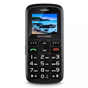Celular Para Idoso Vita 3 Multilaser P9048 Mp3 Radio Fm Novo