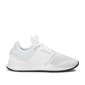 zapatillas new balance blancas de hombre