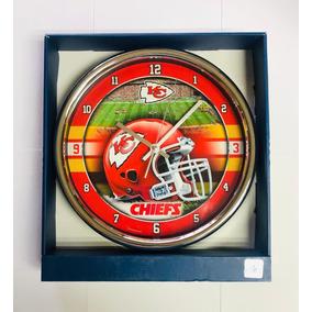 Reloj De Pared Kansas City Chiefs Nfl