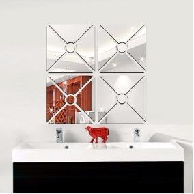 Espelho De Vidro Decorativo Detalhado - Grande