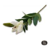 Flor Vara De Lilium Ciruela Artificial 79 Cm