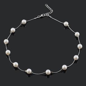 b68ef8d88440 Moda Perla Collar Elegante Clavícula Collar Elegante Mujere