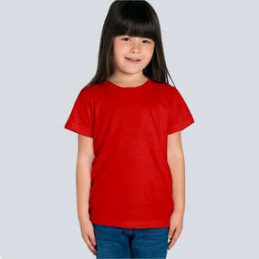 Playera Niño Color Para Sublimar Serigrafia Bordado Dry Fit