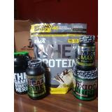 Combo Volumen Ena Sport! Prote1kg+musclemax+bcaa+shaker+oxid