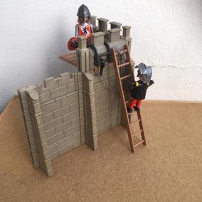 Playmobil Medieval Ataque (2) No Castelo Frete Veja Texto