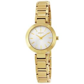 Relógio Luxo Feminino Dkny Donna Karan Original Ny2399/4kn