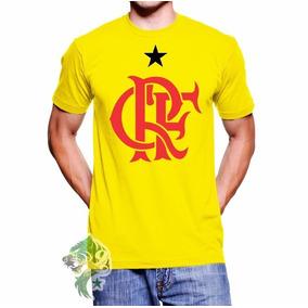 8a04796c7a Flamengo Camisa Verde E Amarela - Camisetas no Mercado Livre Brasil