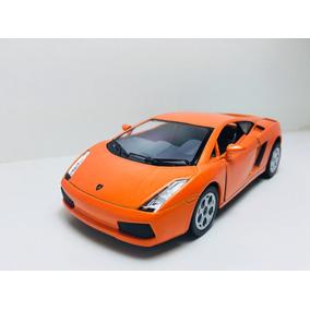 Miniatura Lamborghini Gallardo Laranja Kinsmart 1/32