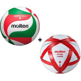 Balon Volleyball Molten 3500  5 + Balon Futbol Forza  5 ff9b21c74b31f
