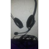 Auricular Logitech Con Micrófono De Pc Stereo Plug ( No Usb