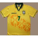 Camisa Brasil Copa 94 Tetra - Camisas de Futebol no Mercado Livre Brasil df3972362c41e
