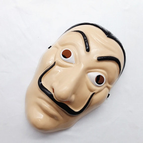 Mascara La Casa De Papel Salvador Dali Rígida Envío Gratis
