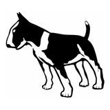 Kit 04 Adesivos Pet Cachorro Bull Terrier 10x12cm Carro Moto