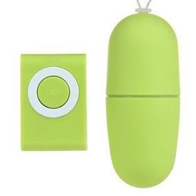 Bala Vibrador Clitoris Control Mp3 Color Verde/envío Gratis